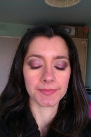 Iridescent Plum and Charcoal  6
