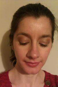 Look 2: MAC Fanfare Lipstick