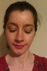 Look 3: MAC Speak Louder Lipstick