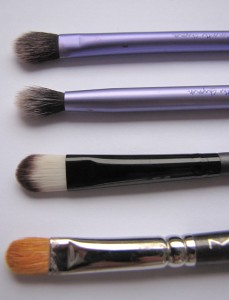 Cream/Base Eyeshadow Brushes