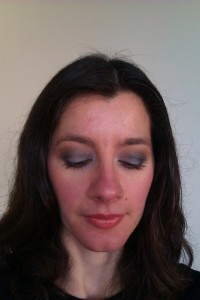 Look 2: MAC Huggable Lip Colour in 'Fresh and Frisky'