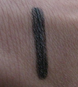 Swatch of Uzi Eyeliner