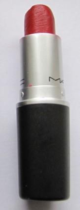 Pic 21a MAC Brave Red Lipstick