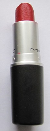 Pic 21a MAC Brave Red Lipstick