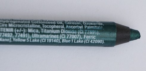 Close-up of NYX Slide-On Eyeliner Pencil