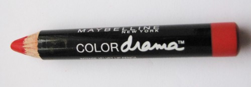 Maybelline Colour Drama ~Velvet Lip Pencil in 410 Fab Orange