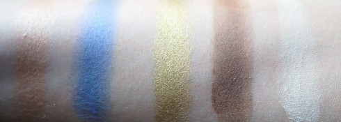 Fourth Row Shades (left to right): Moonflower, UV-B, Goldmine, Twice Baked, Anonymous
